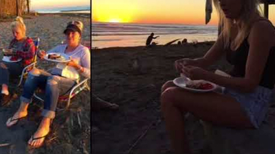 Beach Party at Old Mans – San Onofre